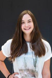 Schulsprecherin Teresa Nagele, 7b